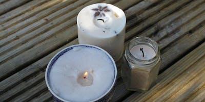 Poured Candles Workshop