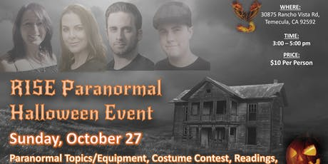 Explore The Mystery Of The Paranormal tickets