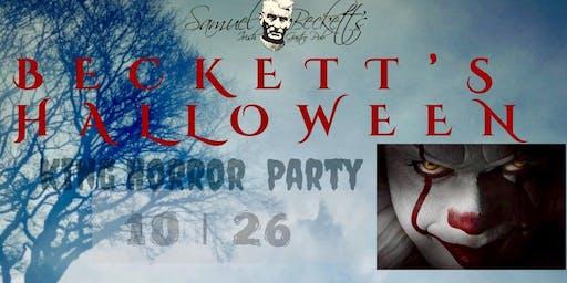 Beckett's Halloween King of Horror Party