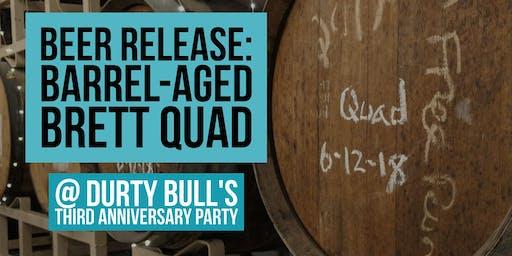 Beer Release: Barrel-Aged Brett Quad