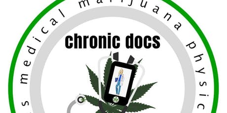 $25 Chronic Docs 100% Virtual State Wide Patient Drive tickets