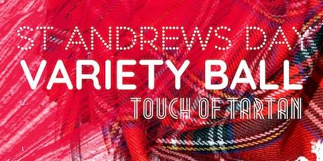 Variety Scotland Ball: Touch of Tartan tickets