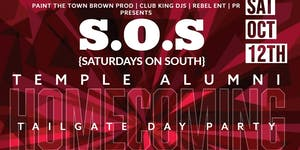S.O.S. {SATURDAYS ON SOUTH} BRUNCH & TEMPLE ALUMNI...