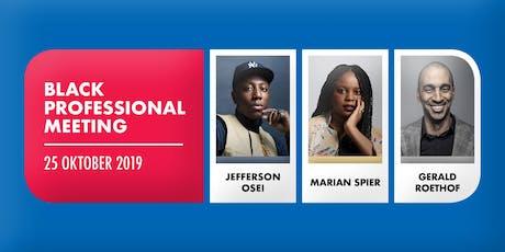 Black Professional Meeting: over ondernemerschap en carrière  tickets