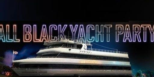 POWER 105 ALL BLACK ATTIRE YACHT PARTY @ JEWEL YACHT