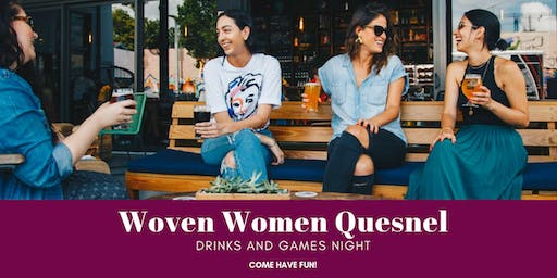 Drinks and Games Night: Gathering For Fun  An event for women 18+