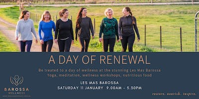 Barossa Wellness Day Retreat , A Day of Renewal