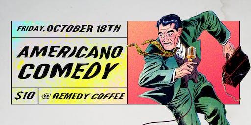 Americano Comedy: A Stand-up Showcase