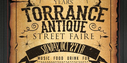 Torrance Antique Street Faire 21st Anniversary Celebration