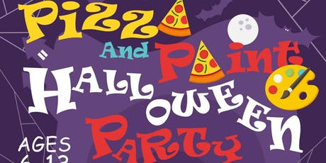 Kids Pizza and Paint Halloween Party tickets