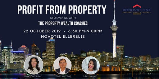 Profit From Property Information Evening