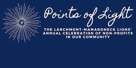 Points of Light: Larchmont Mamaroneck Lions' Celebration of Non-Profits tickets