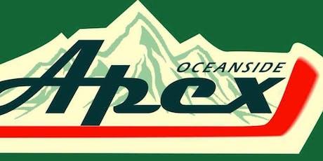 Oceanside Apex Beer & Burger Night tickets