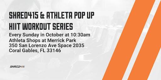 Shred415 & Athelta Pop Up HIIT Workout Series