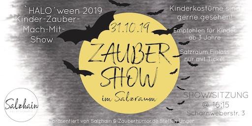 Salzhain HALOween Kinder-Mach Mit-Zaubershow (16:15 Show)