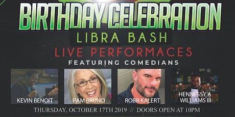 #LibraBash WildmanTeddyT Birthday Celebration tickets