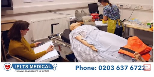 NMC OSCE London hospital review and training - 3 day course (January)