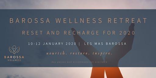 Barossa Wellness New Year Wellness Retreat