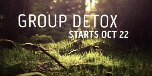 30 DAY GROUP DETOX: The first meeting is FREE