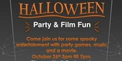 Halloween party & film fun