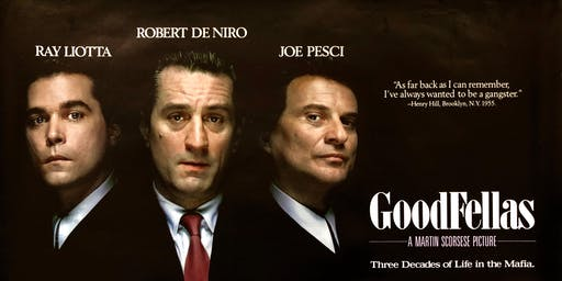 'GOODFELLAS' - Off the Couch Screening Event
