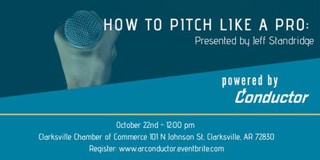 How to Pitch like a Pro: By Jeff Standridge tickets