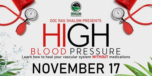 END HIGH BLOOD PRESSURE NOW!