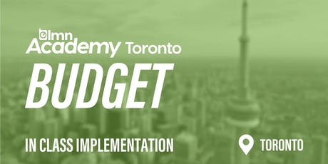 LMN Budget In Class Implementation - Toronto, ON tickets