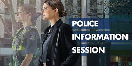 Police Information Session - November tickets