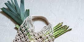 Making a macrame shopping bag