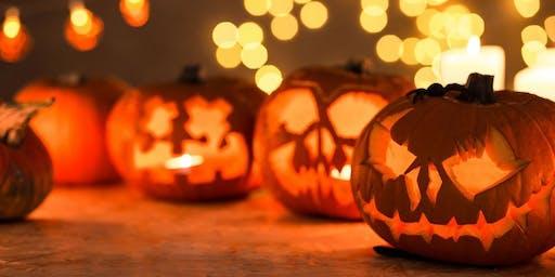 Jack-O-Lantern and Halloween Craft Workshop!
