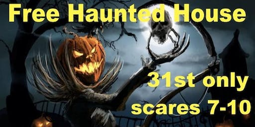 Free 13 room haunted house