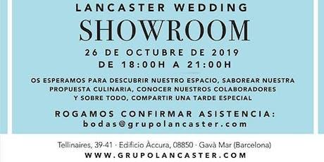 Lancaster Wedding Showroom_Jornada Puertas Abiertas para Bodas entradas