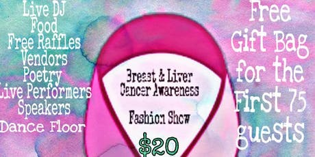 Zadecah's Breast & Liver Cancer Awareness Vintage Fashion Show (21+) tickets