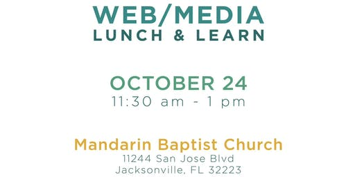 Web & Media - EngageJax Lunch & Learn