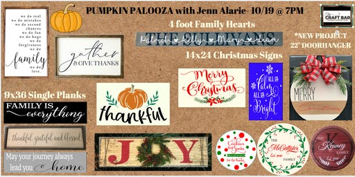 *PRIVATE EVENT - INVITATION ONLY* PUMPKIN PALOOZA with Jenn Alarie!