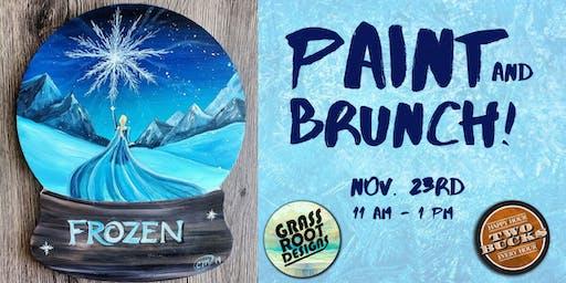 Frozen | Paint + Brunch!