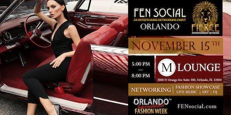 Orlando International Fashion Week - FEN Social Networking, Music, Show tickets
