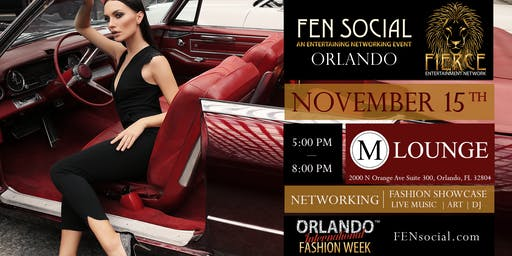 Orlando International Fashion Week - FEN Social Networking, Music, Show
