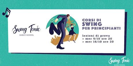Corso di swing per principianti. Lezioni primi passi di Lindy Hop al Vomero biglietti