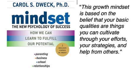 October Book Club at Hervana - Mindset by Carol Dweck tickets