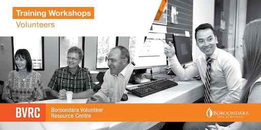 Volunteer Workshop - Dementia Companions