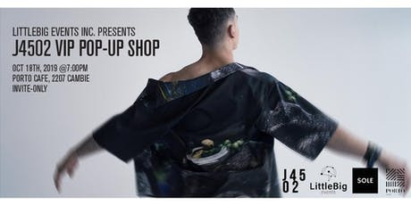 J4502 Fashion Pop-up Shop VIP Event tickets