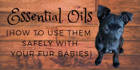 Essential Oils For Your Furry Friends  tickets