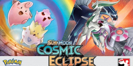 Cosmic Eclipse Pokemon Prerelease tickets