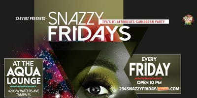 234Vybz SNAZZY FRIDAY | TPA's #1 Afrobeats-Caribbean Party