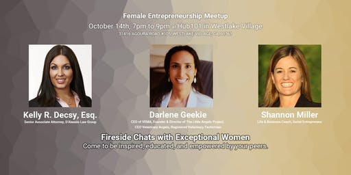 Female Entrepreneurship Meetup - Fireside Chat with Kelly R. Decsy, Esq.