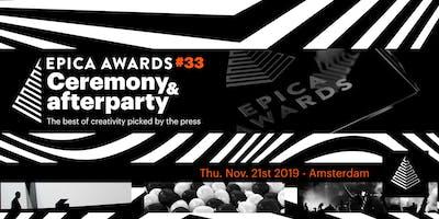 Epica Awards Show