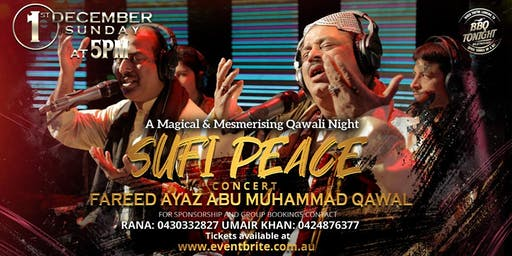Sufi Peace Concert ( QAWALI NIGHT)