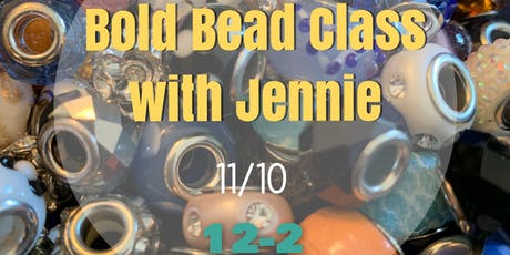 Bold Bead Lariat and Earring Class tickets
